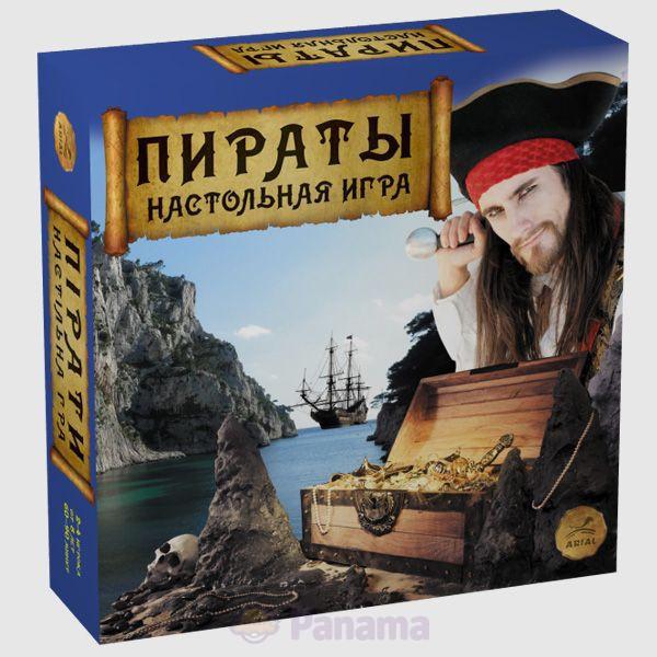 """Настольная игра Ариал """"Пираты"""""""
