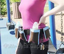 Многофункциональный пояс Waist Diaper Bag с карманами