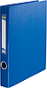 Папка A4 картон 2 кольц. 40 мм ВМ.3101-02 (сін)