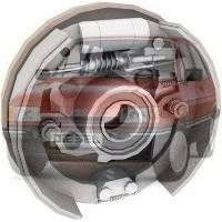 Барабанные тормоза Ford Fiesta Форд Фиеста 1983-1989