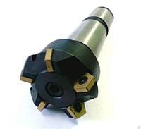 Фреза шпоночная с напайными твердосплавными пластинами к/х ф 10 мм ВК8 Китай