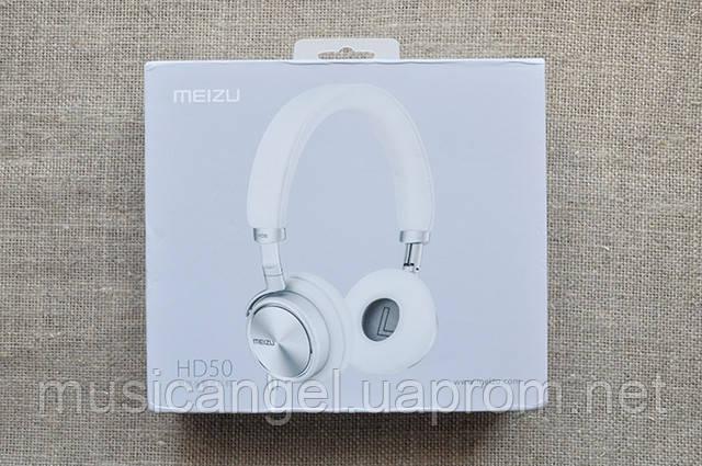 Обзор гарнитуры Meizu HD50 коробка