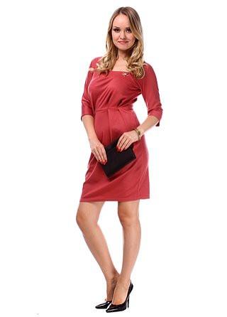 Модное деловое платье