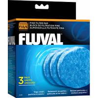 Вкладыш тонкой очистки 3 шт, для фильтров Fluval FX5, Fluval FX6 код А248