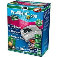 Аквариумный компрессор JBL ProSilent a200 для пресноводных и морских аквариумов 50-300 л