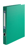 Папка A4 картон 2 кольц. 40 мм ВМ.3101-04 (зел)