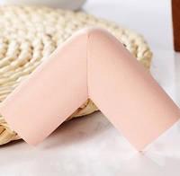 Защита на острые края мебели - стандартная. Розовый.
