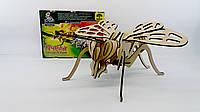Деревянные 4D пазлы П-003 Пчела
