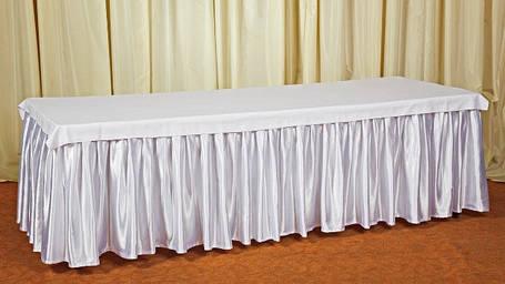 Фуршетная юбка,  Белая 6 метров., фото 2