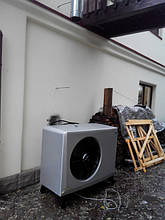 Пример инсталляции теплового насоса EcoAir 410