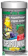 JBL Spirulina корм в виде хлопьев со спирулиной 40%, 1000 мл.