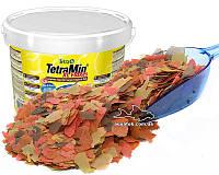 TetraMin XL основной корм на развес крупные хлопья 1000 мл (200 грамм)