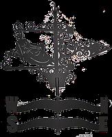 Флюгер большой Ф-9В (зодиак)