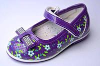 Туфли детские для девочек ТМ Y.TOP, 21-26 размер.
