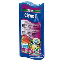 JBL Clynol, 100 мл. кондиционер для очистки воды в пресноводных и морских аквариумах, код 2519000