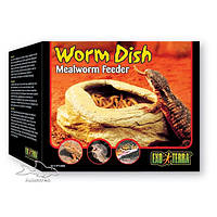 Кормушка для скармливания червей и личинок ExoTerra Worm Dishes (Hagen РТ 2816)