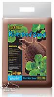Грунт для акватеррариумов песок речной ExoTerra Riverbed Sand 4,5 кг (Hagen РТ 3107)