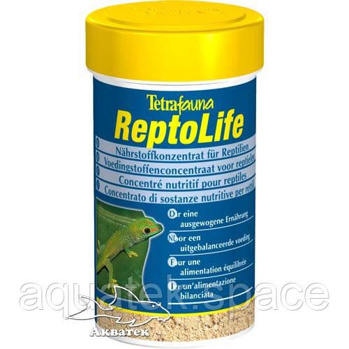 Питательный концентрат для рептилий Tetrafauna ReptoLife, 100 мл.