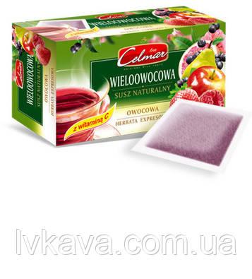 Чай черный Celmar Exspresowa Мультифрукт,  20 пак