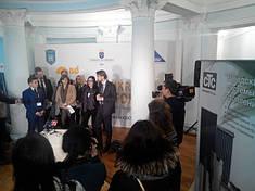 2-й Шведско-Украинский Cleantech forum, Житомир, Ноябрь 2015г.