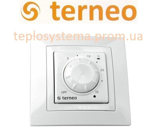 Терморегулятор Terneo rol unic для обогревателей (белый), Украина