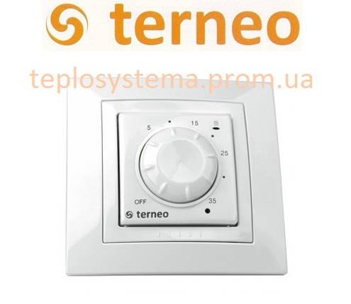 Терморегулятор Terneo rol unic для обогревателей (белый), Украина, фото 2