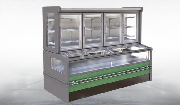 Шкаф-бонеты морозильные
