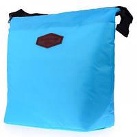 Термосумка для ланча Lunch Bag голубая