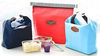 Термосумка для ланча Lunch Bag красная