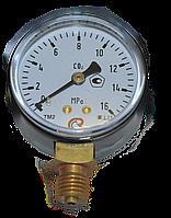 Манометр МП-50 16,0 МПа СО2 (углекислый газ) 160атм