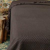 Fresno Pique Blanket (Hasir) от Casual Avenue плед-покрывало из эвкалипта 240x250 chocolate