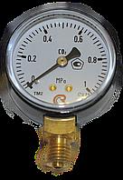 Манометр МП-50 1,0 МПа СО2 (углекислый газ) 10 атм
