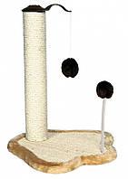 Когтеточка-столбик Trixie Scratching Paw with Post для кошек, 41 х 38 х 50 см