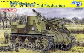 M7 Priest \Mid Production\    1\35     DRAGON 6637