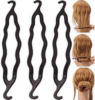 Заколка Твистер для красивых причесок, для создания гульки, пучка, для создания волнистых волос, аксессуар