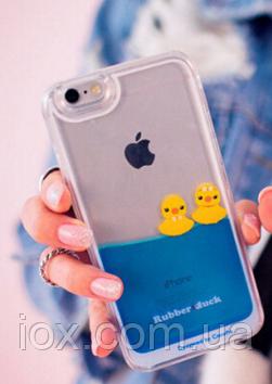 """3Д анимационный чехол """"Уточки"""" для Iphone 6/6S"""