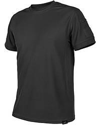 Тактическая полицейская футболка Helikon Tactical - Black (TopCool)