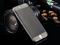 Серый силиконовый чехол-книжка 100% защита для Iphone 6/6S, фото 1