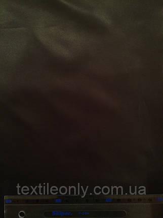 Ткань Плащевка Лаке черная , фото 2