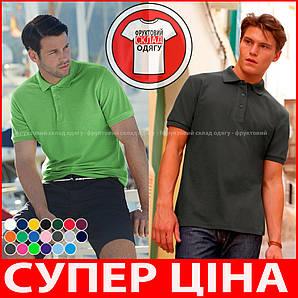 Мужская поло рубашка 100% хлопок