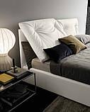 Сучасна ліжко в тканини з регульованим узголів'ям Edgar фабрика Felis (Італія), фото 2