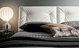 Сучасна ліжко в тканини з регульованим узголів'ям Edgar фабрика Felis (Італія), фото 3