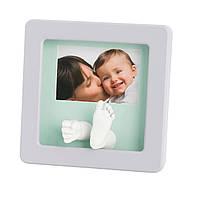 Набор для слепков ручек и ножек Baby Art Sculpture Rounded Frame - Pastel
