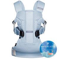 Многофункциональный рюкзак-кенгуру BABYBJORN ONE Air, (Ice-blue fish, Mesh) Блакитна крига. Новинка 2016