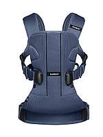 Синий эргономичный рюкзак-кенгуру BABYBJORN ONE Air, синий , фото 1