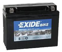 Аккумулятор гелевый мото 21Ah 350A EXIDE SLA12-23 = AGM12-23 для Yamaha , Kawasaki VN 1500 Vulcan , BOMBARDIER