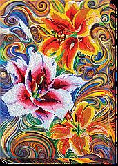Набор для вышивки бисером на холсте «Три добродетели»