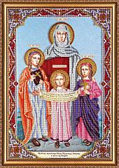 Набор для вышивки бисером на холсте «Святые Вера, Надежда, Любовь и мать их София»