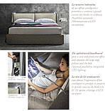Современная кровать с подсветкой на изголовье Kevin фабрика Felis (Италия), фото 7