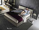 Современная кровать с подсветкой на изголовье Kevin фабрика Felis (Италия), фото 4